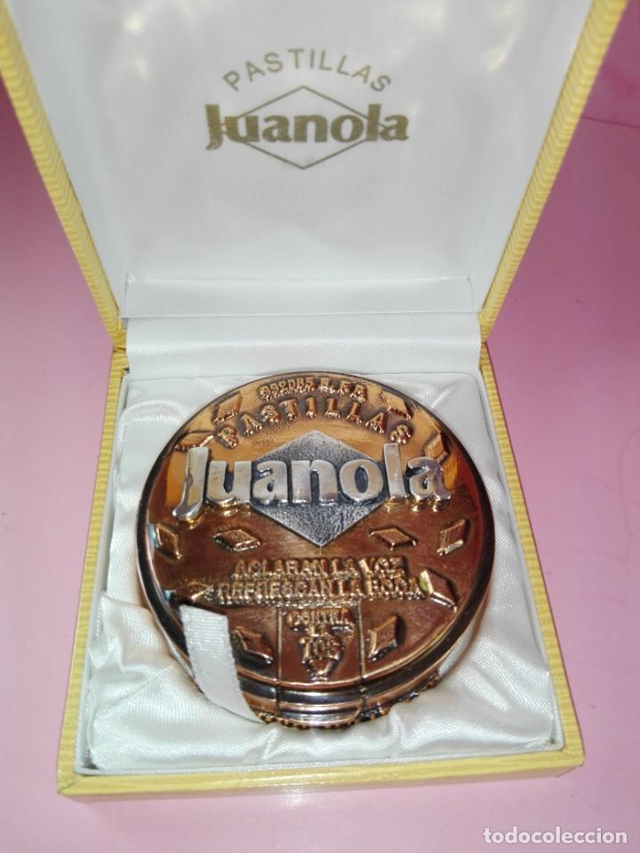 Escribanía: Pisapapeles-Cobre-pastillas Juanola-Macizo-centenario-Reproducción Caja Original 1990-Nuevo - Foto 7 - 170131484