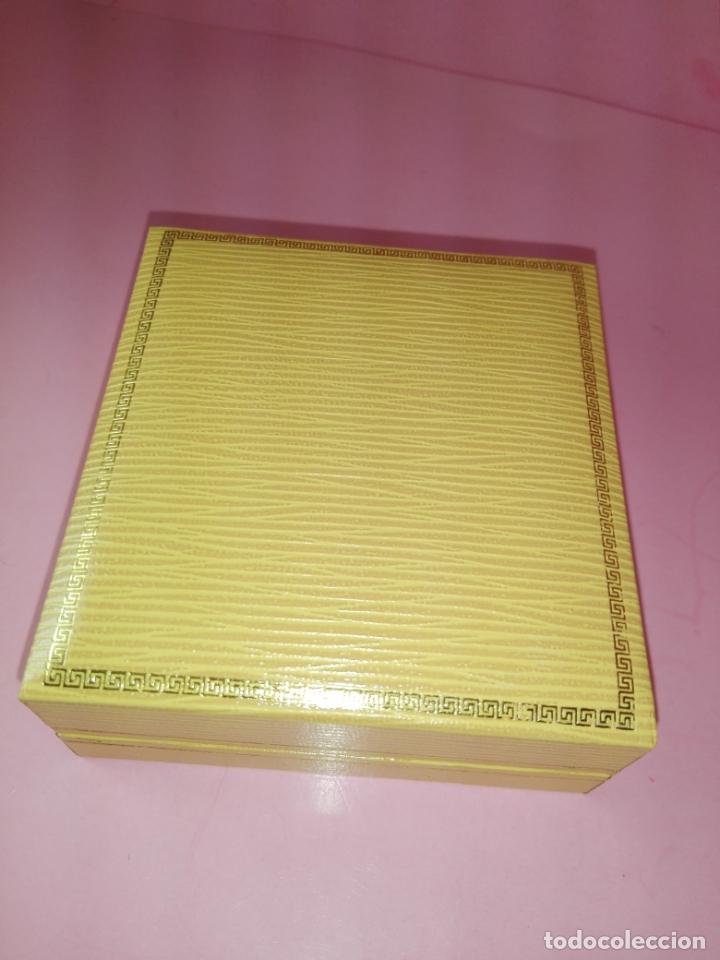 Escribanía: Pisapapeles-Cobre-pastillas Juanola-Macizo-centenario-Reproducción Caja Original 1990-Nuevo - Foto 10 - 170131484