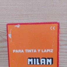 Escribanía: CAJA 40 GOMAS DE BORRAR MILAN - MIXTAS DE TINTA Y LAPIZ - FALTA 1 GOMA. Lote 172152677