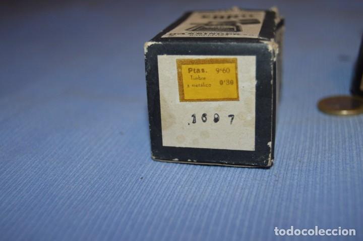 Escribanía: Tinta china EBRO - Lote antiguo, UN frasco - En su caja original - ¡Observa fotos y detalles! - Foto 9 - 173521242