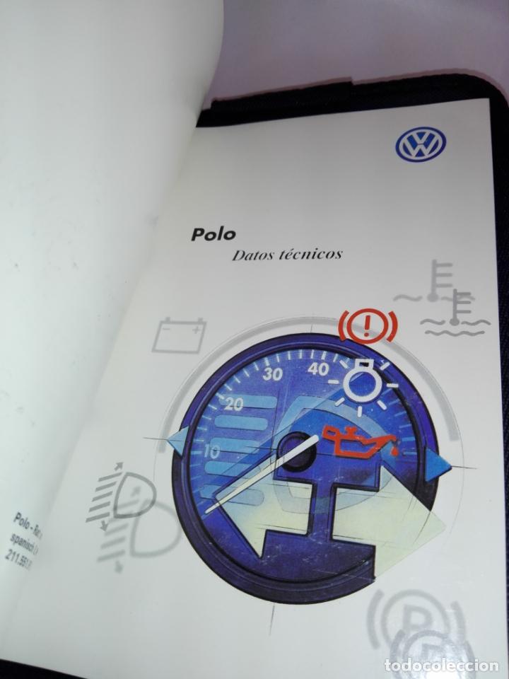 Escribanía: Carpeta-Documentación coche-Wolsvagem Polo-Gran Calidad-Tela Rígida-Buen estado-Ver fotos - Foto 7 - 173571462