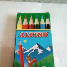 Escribanía: CAJA DE 6 COLORES ALPINO. Lote 174021539
