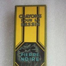 Escribanía: 12 ANTIGUOS LÁPICES DE DIBUJO GRAFITO CONTÉ A PARIS PIERRE NOIRE # 710. FRANCIA.. Lote 195518116