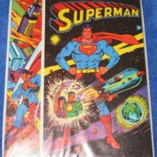 Escribanía: COMIBLOC - SUPERMAN - PLASTINOVA (1977) ¡IMPECABLE!. Lote 174983228