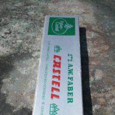 Escribanía: CAJA CON 12 LÁPICES FABER CASTELL. Lote 175032275