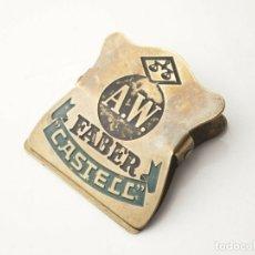 Escribanía: ANTIGUA PINZA PARA PAPEL A.W.FABER (METÁLICA)*1930-1960-- BUEN ESTADO—COLECCIÓN-DIFÍCIL. Lote 175340964