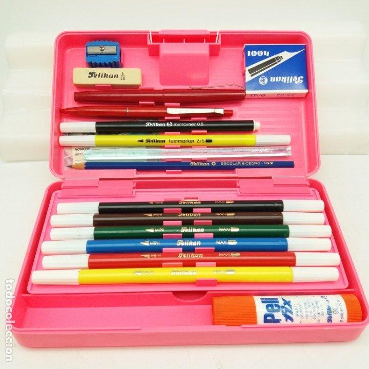 Escribanía: Plumier Pelikan rosa - Escolar Cedro, Microliner, Pluma, EGB - Nuevo a estrenar modelo MINI LUXE - Foto 2 - 175672235