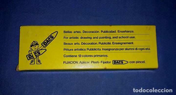 Escribanía: ANTIGUOS COLORES DE CERA DACS ESTAN NUEVOS SIN USO VER FOTOS Y DESCRIPCION - Foto 3 - 176276809