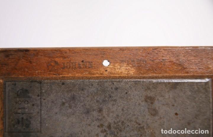 Escribanía: Antigua Pizarra Escolar Johann Faber, Nº 7 - Medidas 26 x 19,5 cm - #LRV - Foto 2 - 177552640