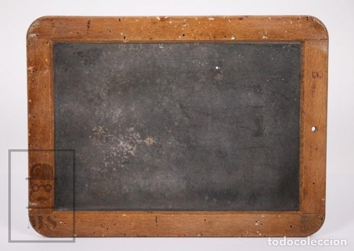 Escribanía: Antigua Pizarra Escolar Johann Faber, Nº 7 - Medidas 26 x 19,5 cm - #LRV - Foto 5 - 177552640