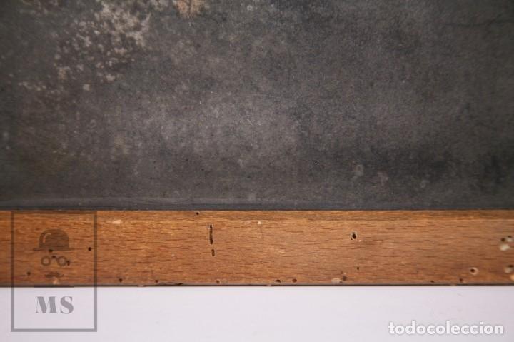 Escribanía: Antigua Pizarra Escolar Johann Faber, Nº 7 - Medidas 26 x 19,5 cm - #LRV - Foto 7 - 177552640