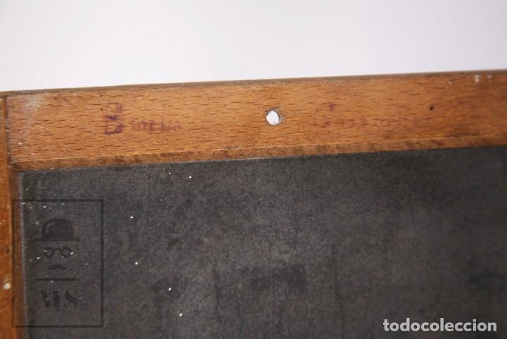 Escribanía: Antigua Pizarra Escolar Johann Faber, Nº 7 - Medidas 26 x 19,5 cm - #LRV - Foto 8 - 177552640