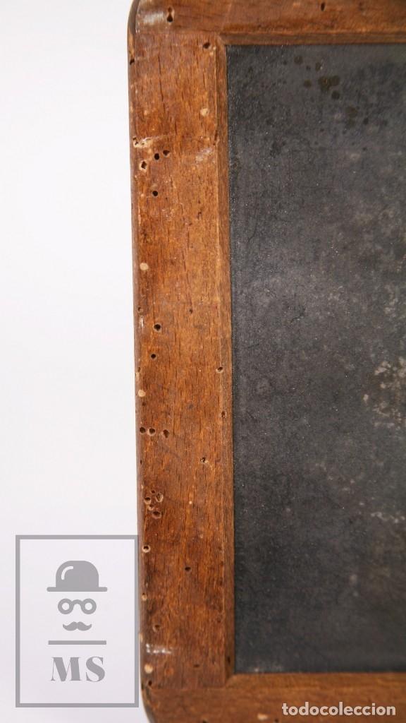 Escribanía: Antigua Pizarra Escolar Johann Faber, Nº 7 - Medidas 26 x 19,5 cm - #LRV - Foto 9 - 177552640