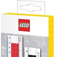 Escribanía: LEGO REGLA DE CONSTRUCCIÓN, 28 PIEZAS. Lote 178337902
