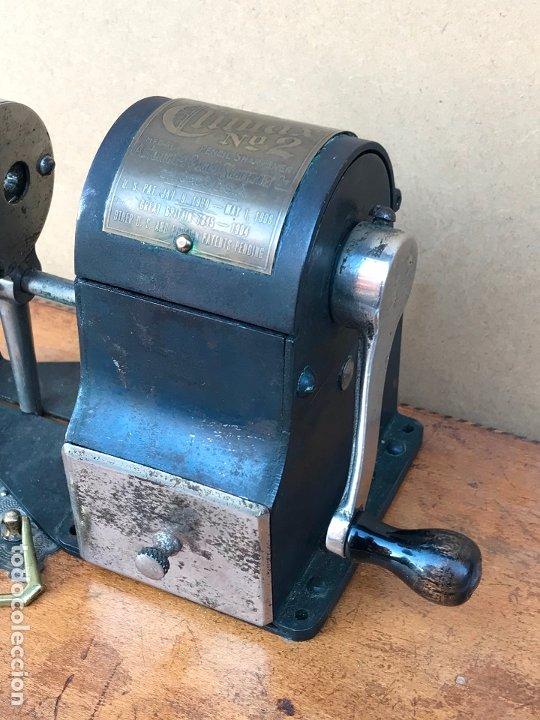 Escribanía: Afilador de lapices Climax nº2 en perfecto estado - Made in Chicago, USA - Años 20 - Foto 2 - 178824852