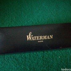 Escribanía: ESTUCHE PARA PLUMA O BOLIGRAFO WATERMAN. Lote 179131851