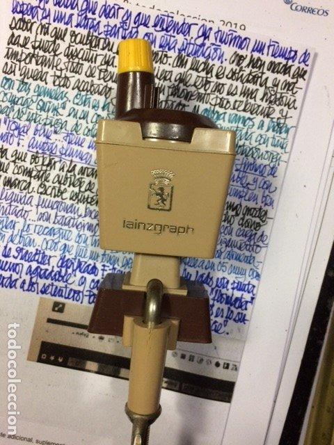AFILAMINAS DE TAMBOR LAINZGRAPH PROJET 992 DE LOS AÑOS 60-70BOQUILLA AMARILLA. (Plumas Estilográficas, Bolígrafos y Plumillas - Plumillas y Otros Elementos de Escribanía)