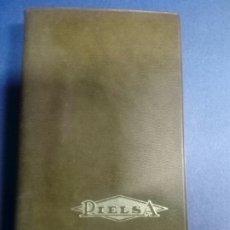 Escribanía: AGENDA PUBLICIDAD DE PIELSA CALZADOS DE CALIDAD MANRESA 1975 CALENDARIO - COMO NUEVA. Lote 179206092