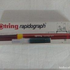 Escribanía: BLISTER ROTRING RAPIDOGRAPH 50 MM/NUEVO¡¡¡¡¡¡¡¡¡. Lote 179952455