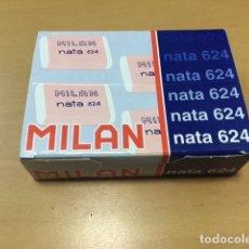 Escribanía: MILAN 624 GOMA NATA 16 UNIDADES EN CAJA. Lote 180228460