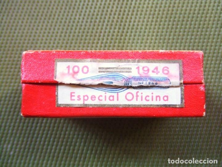 Escribanía: CAJA DE PLUMAS CERVANTINAS. 1946 - Foto 5 - 117216864