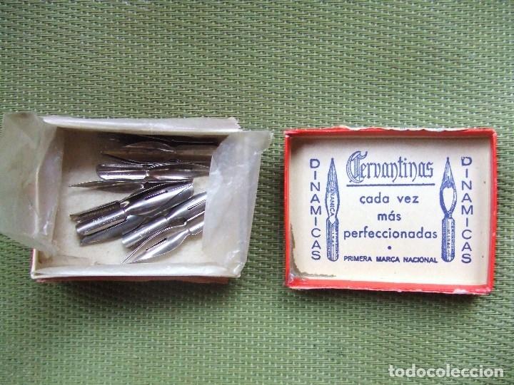 Escribanía: CAJA DE PLUMAS CERVANTINAS. 1946 - Foto 7 - 117216864