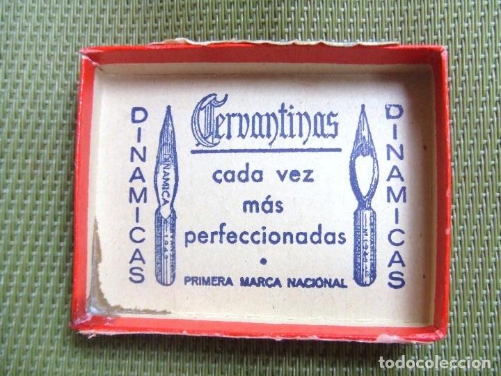 Escribanía: CAJA DE PLUMAS CERVANTINAS. 1946 - Foto 8 - 117216864