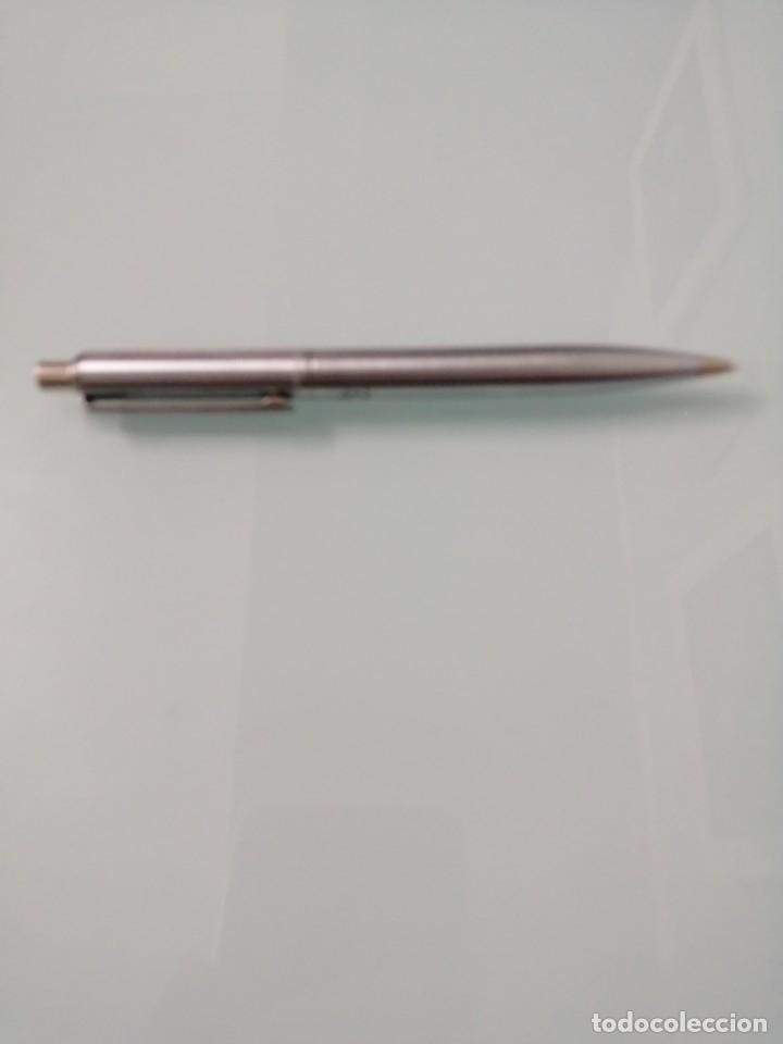 Escribanía: Portaminas SHEAFFER en acero. USA. Con estuche. - Foto 2 - 181769075
