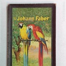 Escribanía: CAJA DE LÁPICES JOHANN FABER. Lote 181957463