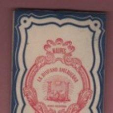 Escribanía: BLOC DE NOTAS PUBLICIDAD DE NAIPES JUAN ROURA - CALLE NAPOLES DE BARCELONA. Lote 182189307