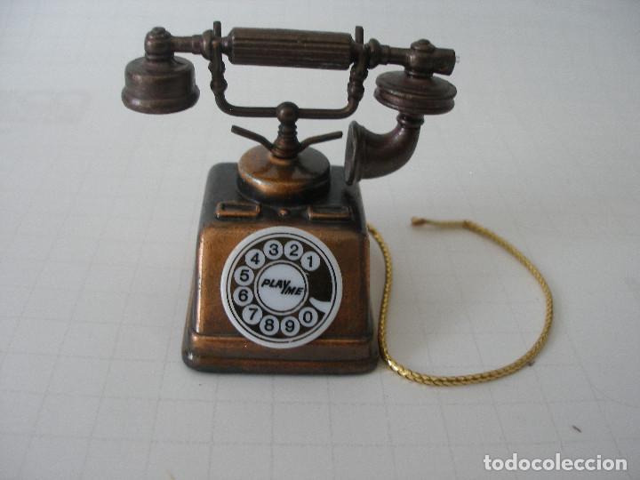 SACAPUNTAS METAL MINIATURA TELÉFONO PLAYME (Plumas Estilográficas, Bolígrafos y Plumillas - Plumillas y Otros Elementos de Escribanía)