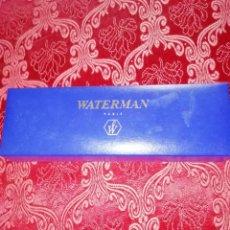 Escribanía: ESTUCHE VACIO ESTILOGRAFICA WATERMAN. Lote 184834782