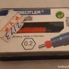 Escribanía: PUNTERA STILOGRAFO STAEDTLER. MARSMATIC - 0.20 MM. - SIN USAR.. Lote 185667307