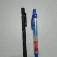 Escribanía: DOS PORTAMINAS DE PUBLICIDAD. Lote 185699865