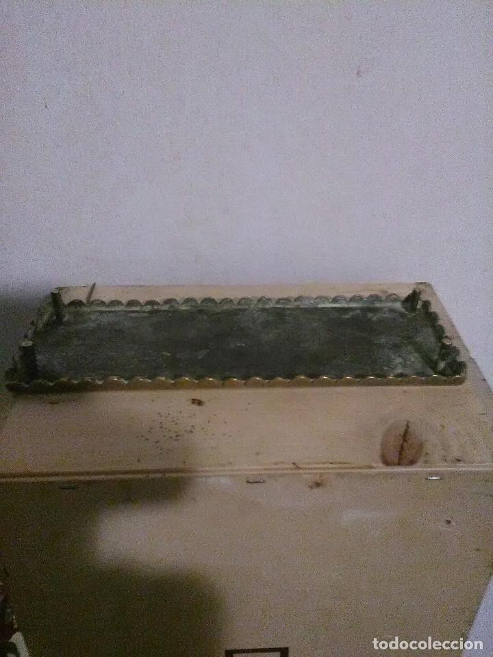 Escribanía: Escribania en bronce siglo XIX - Foto 5 - 187198616