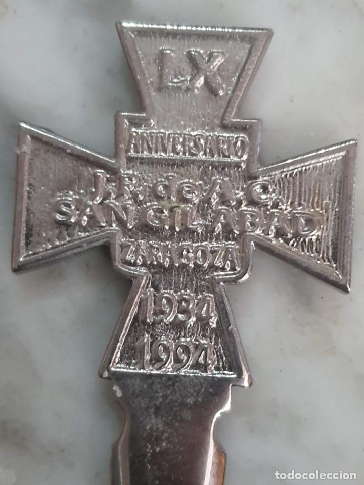 Escribanía: ABRECARTAS CRUZ TEMPLARIA - Foto 4 - 188811238