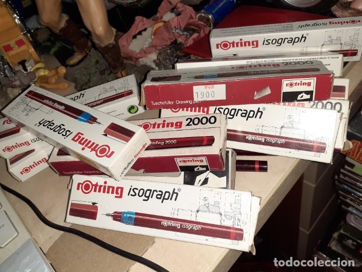 Escribanía: Lote de 15 estilógrafos profesionales Rotring Germany.Nuevos,de tienda. - Foto 5 - 188866002