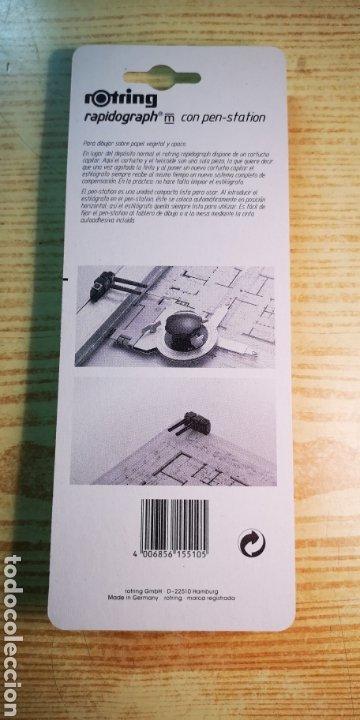 Escribanía: Rotring rapidograph 0,2mm a estrenar - Foto 2 - 189573462
