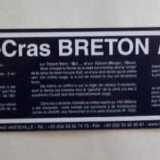 Escribanía: REGLA NAVEGACIÓN - REGLE-CRAS BRETON MK6 POLARIS. Lote 190194767