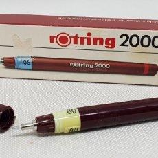 Escribanía: ROTRING 2000 - 0,8 - SIN USAR - EN CAJA - TDK169. Lote 191120276