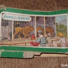 Escribanía: CAJA DE TAMPONES DE ANIMALES FEROCES,AÑOS 20. Lote 192065122