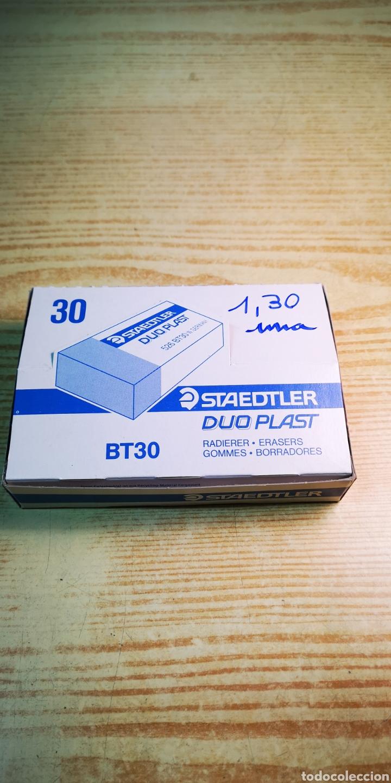 Escribanía: Staedtler bt30 duo plast caja de 30 gomas - Foto 3 - 193170527