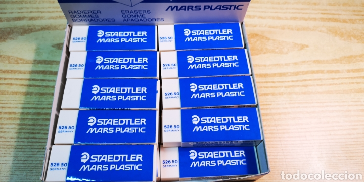 Escribanía: Staedtler mars plastic caja de 19 gomas - Foto 2 - 193192556