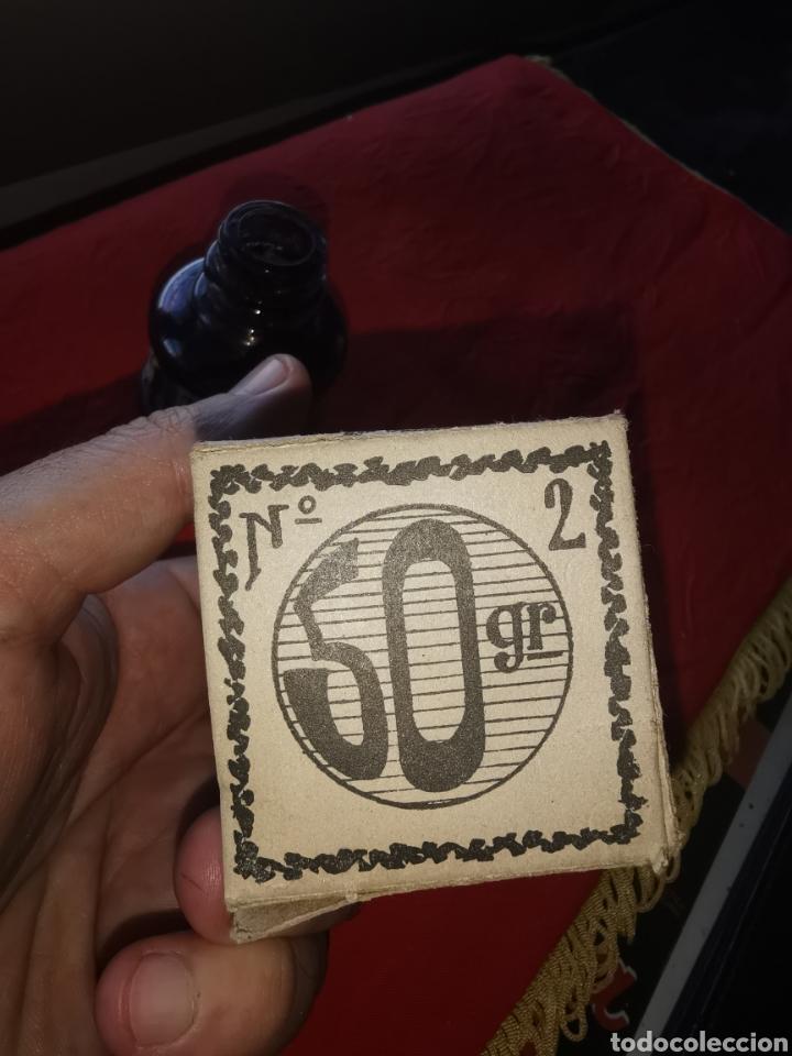 Escribanía: Bote de tinta Gong. Granada. Años 40- 50 - Foto 5 - 193395102