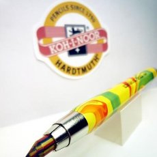 Escribanía: KOH I NOOR HARDTMUTH LAPIZ PORTAMINAS ALUMINIO VERSATIL 5340 5,6 MM. MINA MAGIC MULTICOLOR. Lote 194230826