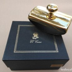 Escribanía: SECAFIRMAS CASCO GOLD PLATED 23 KT. Lote 194243562