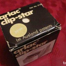 Escribanía: ARLAC. CLIP-STAR.CAJA DE CLIPS. AÑOS 80. MUY BUEN ESTADO. Lote 194505095