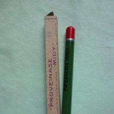 Escribanía: ANTIGUO LÁPIZ PUBLICIDAD PROVEINASE MIDY - PRICIPIOS SIGLO XX - MUY GRANDE Y ANCHO. RARO.. Lote 194513947