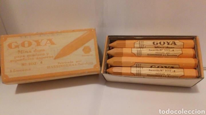 Escribanía: 12 minas duras n°107-4 - marca Goya ( más 5 euros gastos de envío) - Foto 2 - 194621126