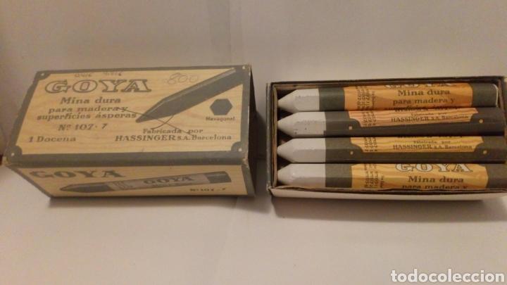 Escribanía: 12 minas duras n °107-7 - marca Goya ( más 5 euros gastos de envío) - Foto 2 - 194622161